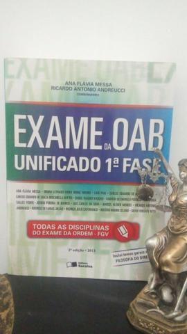 Livro Exame da OAB Unificado 1ª Fase - Ana Flávia Messa e Ricardo Antônio Andrelucci