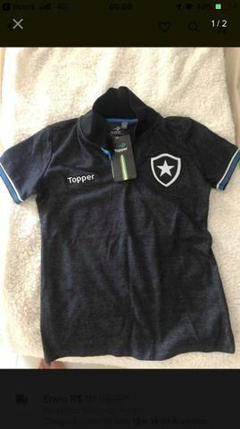 Camiseta polo botafogo feminina - Esportes e ginástica - Kobrasol ... 0d01a1a68b0f4
