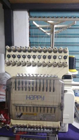 Happy - Maquina De Bordar 12 Agulhas Happy