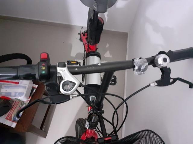 Bicicleta elétrica two dogs - Foto 4