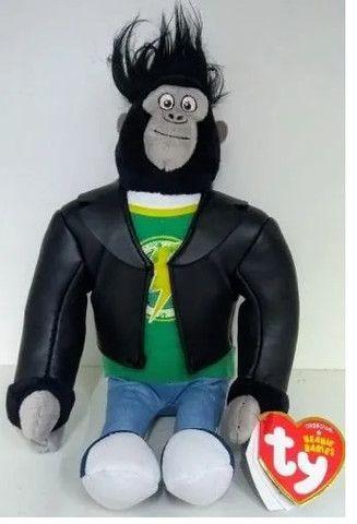 Pelúcia Ty Beanie Babies Johnny O Gorila - Dtc3718