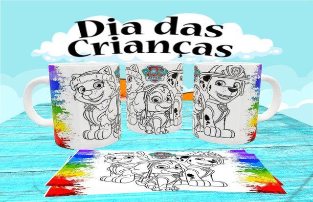 Canecas personalizada para colorir - Foto 2