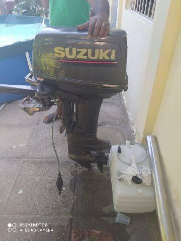 Barco  Super 06  Com  Motor  25 HP  Todo  Revisado  Aceito Cartão  Moto Carro - Foto 4