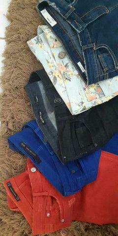 Calças jeans de Marcas Tam 36 - Foto 3