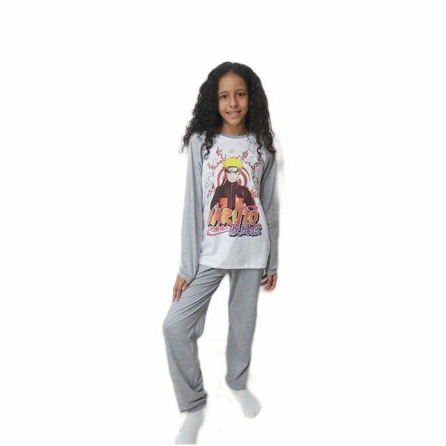 Pijama infantil personagem 02 à 12 anos - Foto 6
