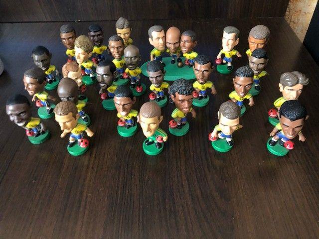 Coleção Mini Craque 1998, 26 Peças - Raridade - Foto 2