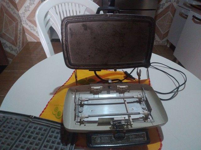 Grill altomático Black Decker antigo - Foto 3
