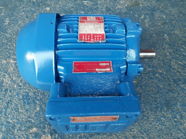 Motor elétrico trifásico 0.5 cv rpm 850 à prova de explosão. - Foto 3