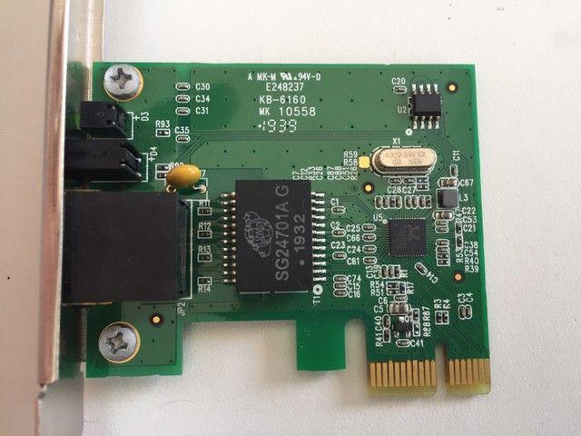 Adaptador de rede tp-link gigabit PCI express 10/100/1000 - Foto 2