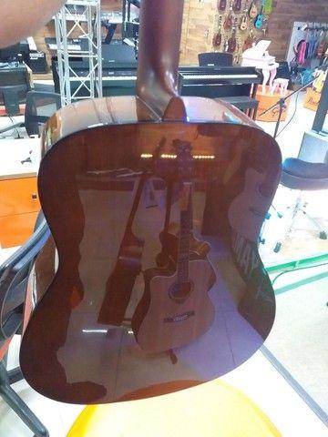 Violão Yamaha F310 novo com semicase novo - Foto 3