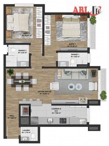 Apartamento Alto Padrão para Venda em Centro Gramado-RS - Foto 9