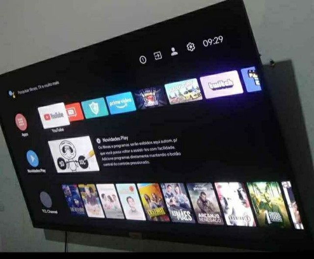 Vendo TV smart 43 polegadas com nota fiscal está semi nova - Foto 3