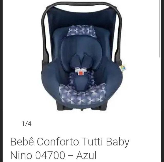 Bebê conforto Tutti baby pouquissimo usado - Foto 2