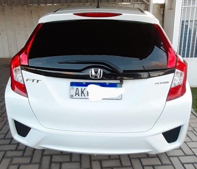Honda Fit Cvt Branco 2015. Excelente.  - Foto 11