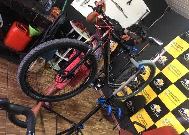 Bike aro 29 top de linha edição especial. - Foto 2