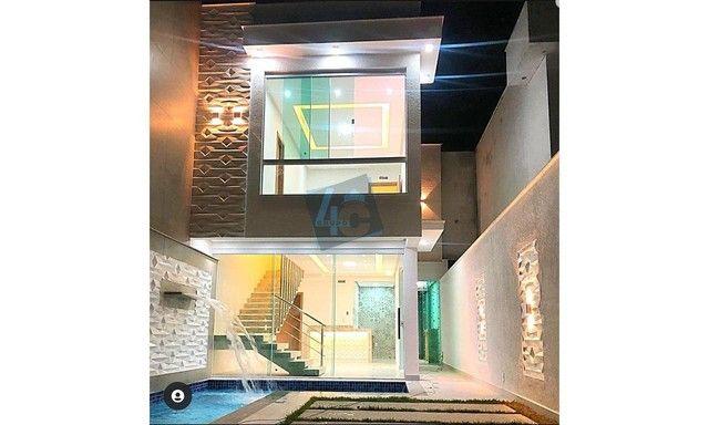 Casa Duplex com 3 dormitórios à venda, 94 m² por R$ 619.000 - Taperapuã - Porto Seguro/BA