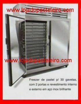.Refrigerador para Pastéis Loja do Pasteleiro com gavetas * Peça Única  - Foto 5