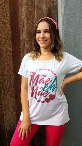 Camisas Personalizada Dia das Mães - Foto 5