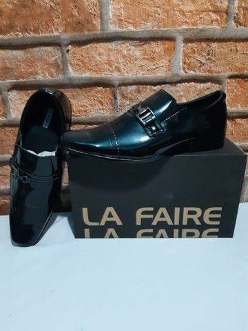 Sapato La Faire Couro Top! (38, 40, 41, 42, 44)