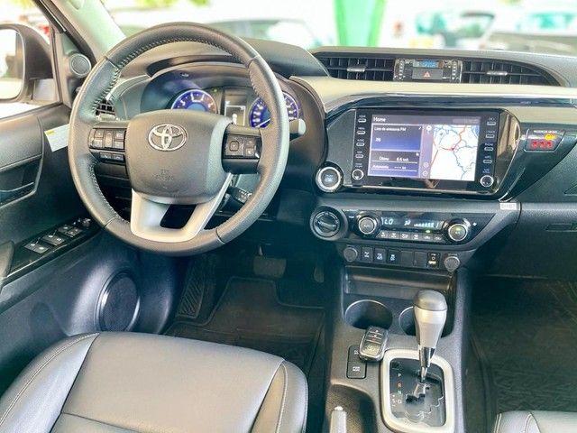 Toyota Hilux SRV 2020 4X4 Diesel - Foto 14