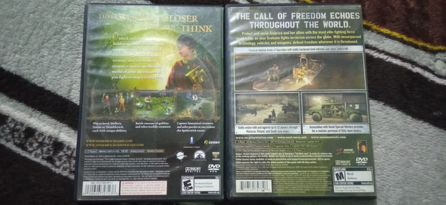 KIT JOGOS | THE SPIDERWICK CHRONICLES + SOCOM 3 U.S NAVY SEALS + BRINDE: MEMORY CARD 8MB - Foto 2