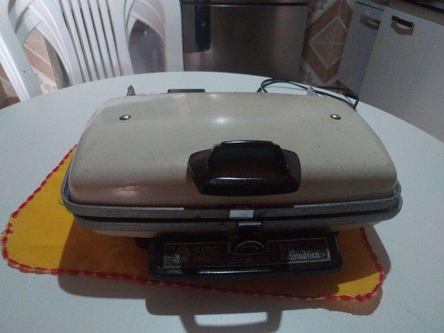 Grill altomático Black Decker antigo - Foto 4
