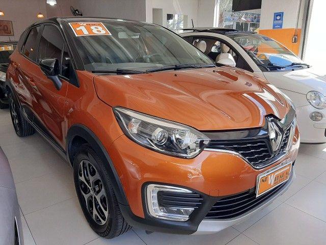 Renault Captur Intense 1.6 automatico CVT 2018 único dono. Revisões na concessionária. - Foto 3