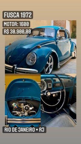 Fusca 72 com kit 1600  - Foto 5