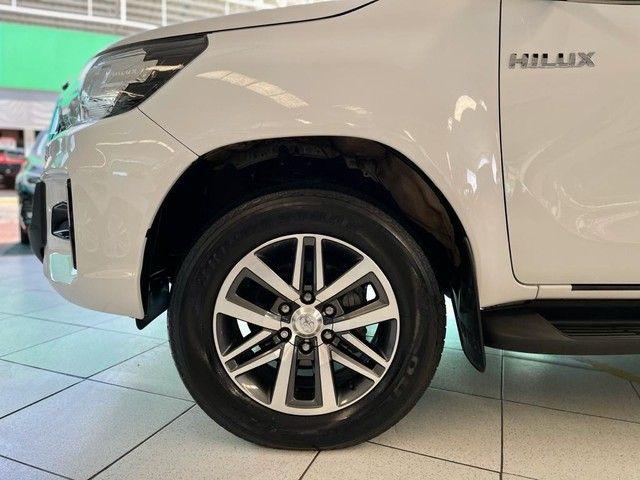 Toyota Hilux SRV 2020 4X4 Diesel - Foto 9