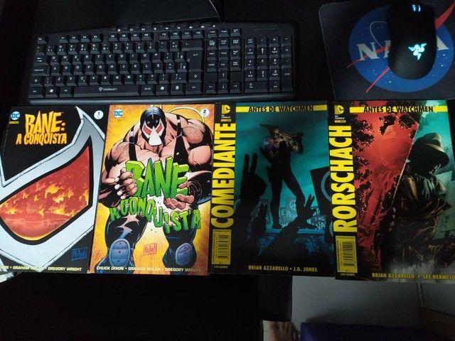 HQs Marvel e DC - Foto 2