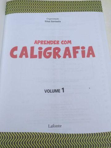Caligrafia Grande V1 - 120 Páginas - Foto 2