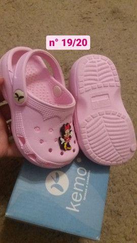 Calçados de menina nº19 - Foto 4