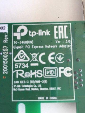 Adaptador de rede tp-link gigabit PCI express 10/100/1000 - Foto 4