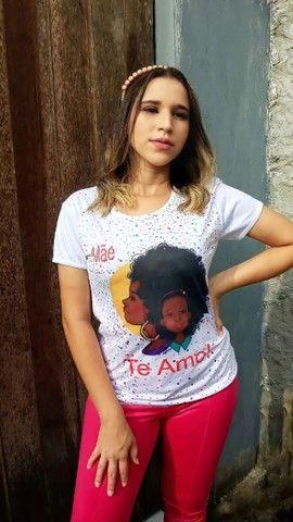 Camisas Personalizada Dia das Mães - Foto 4
