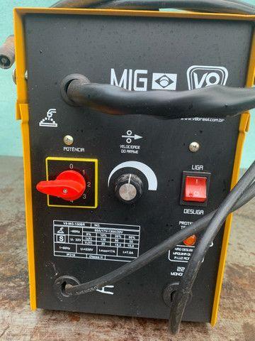 Máquina de solda Mig V8 - Foto 3