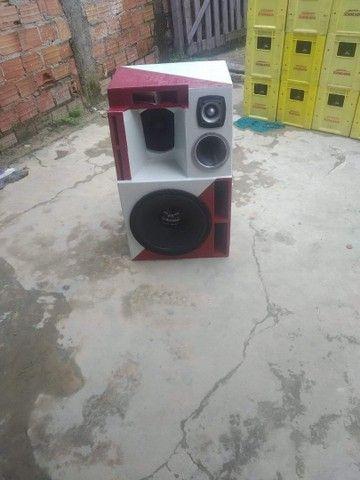 Vendo  projeto caixa Bob  para alto falante de 15 - Foto 2
