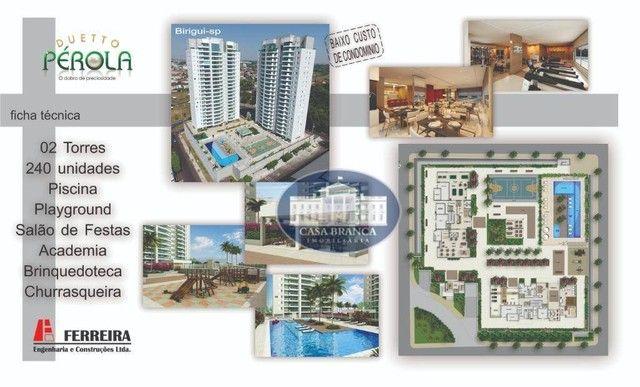 Cobertura Duplex - 3 suítes à venda, 171 m² por R$ 826.200 - Parque das Paineiras - Birigü - Foto 6