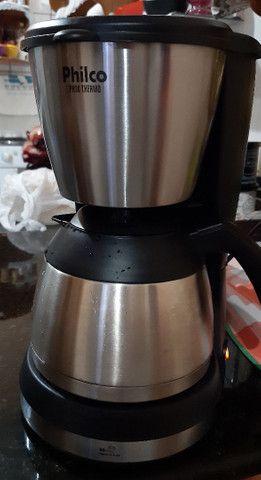 Cafeteira elétrica inox Philco 220v - Foto 3