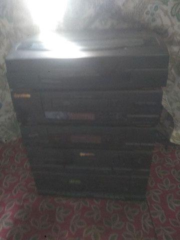 Radio - Amplificador - Toca-Discos e Fitas Gradiente - Foto 2