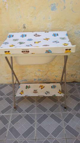 Trocador de fraldas e banheira  - Foto 2