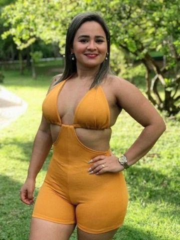 KIT 3 Peças - Composto por Conjunto, Macaquinho e Vestido (combo moda feminina) - Foto 4