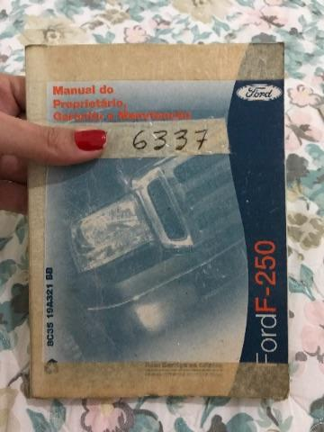 Manual do Proprietário Ford F-250 4x4 2009