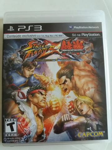Jogo Ps3 Street Fighter X Tekken