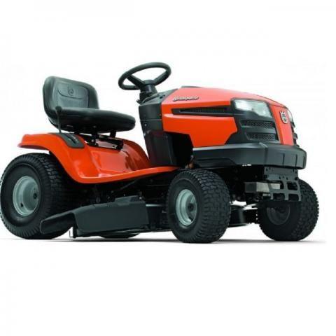 Trator cortador de grama à gasolina Husqvarna LT1597