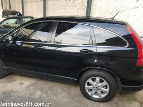 Honda CR-V 2.0 16V EX-L 4x4 2009 Preta - Foto 4
