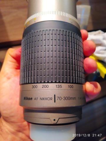 Lentes Objetiva Nikon Nikkor 70-300 Manual - Foto 4