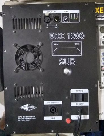 Placa Meaaudio Box 1600