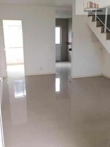 Casas duplex em condominio no eusebio com 3 quartos e lazer - Foto 5
