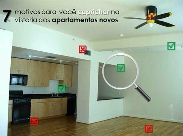 Vistoria em apartamentos novos
