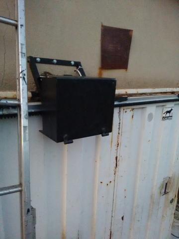 Motor para Portão eletrônico instalado R$600,00 novo com garantia, motor 1/4hp Rossi 600KG - Foto 5